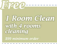 Cleaning Coupons | 1 room cleaning free with with 4 rooms cleaning | CITICLEAN