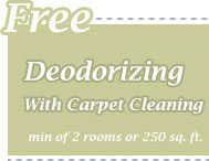 Cleaning Coupons | Free deodorising with carpet cleaning | CITICLEAN