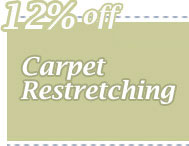 Cleaning Coupons | 12% off carpet restretching | CITICLEAN