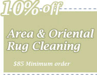 Cleaning Coupons | 10% off area rug cleaning | CITICLEAN