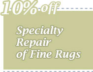 Cleaning Coupons | 10% off rug repair | CITICLEAN