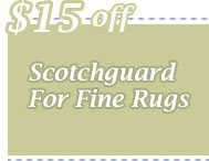 Cleaning Coupons | $15 off scotchguard for rugs | CITICLEAN