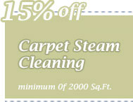 Cleaning Coupons | 15% off carpet steam cleaning | CITICLEAN