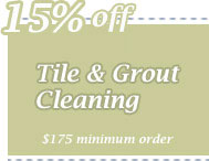 Cleaning Coupons | 15% off tile & grout cleaning | CITICLEAN